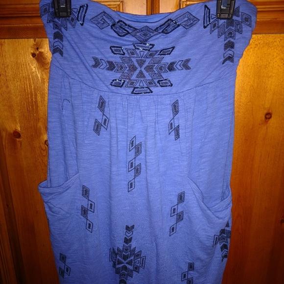 Express Dresses & Skirts - Express Bandeau Top Sundress